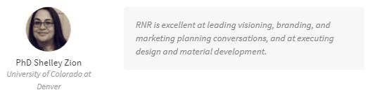 RNR creative enterprises testimonial