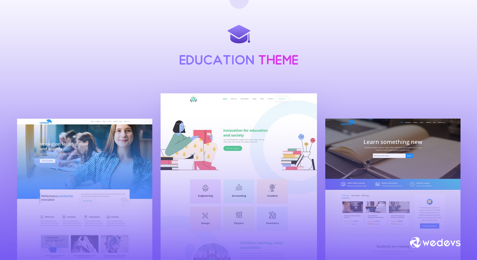 An Unparalleled WordPress Education Theme