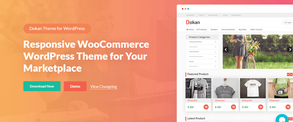 Dokan theme compatible with Elementor theme builder