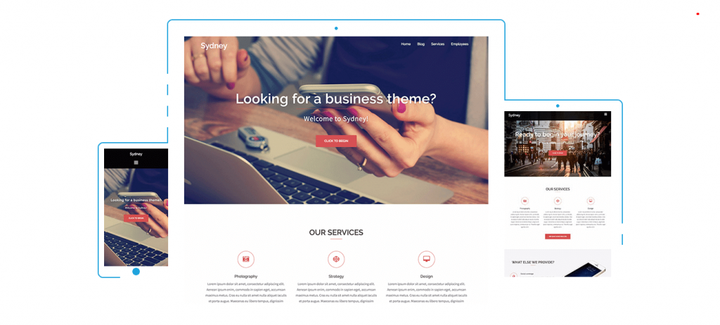 Sydney- business theme for WooCommerce