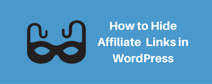 Hiding Affiliate links