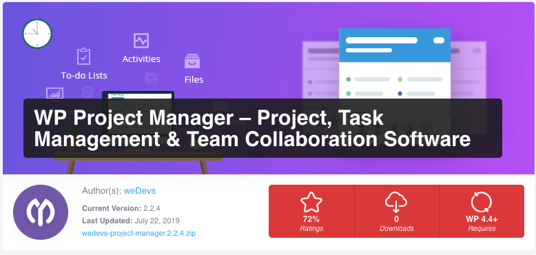 WP Project Manager