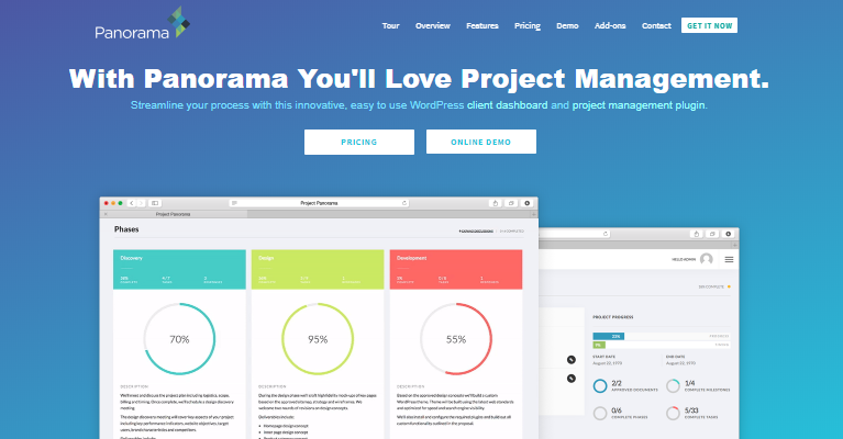 Panorama project manager