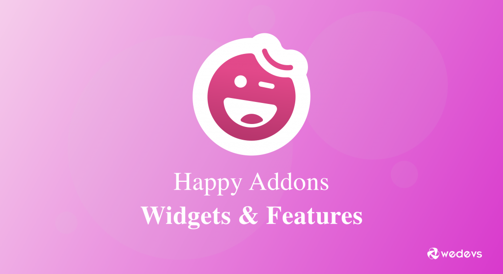 Happy Elementor Addons, widgets & features
