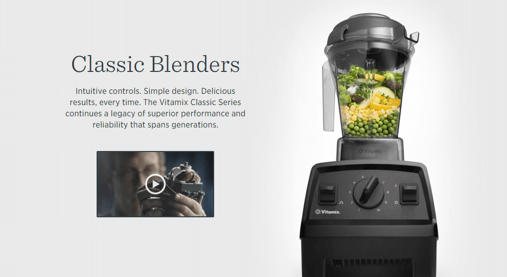 Vitamix product description