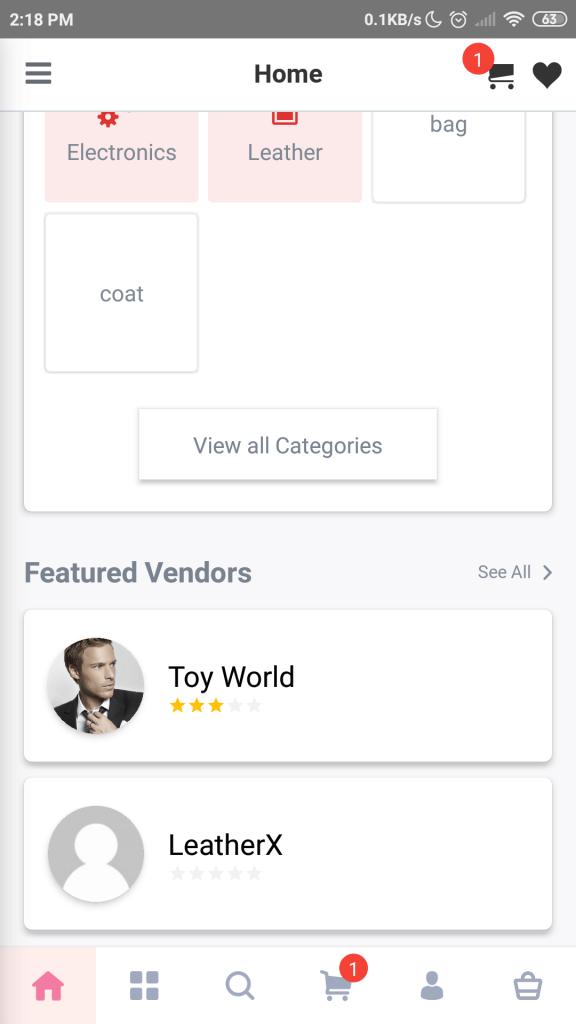 featured vendors