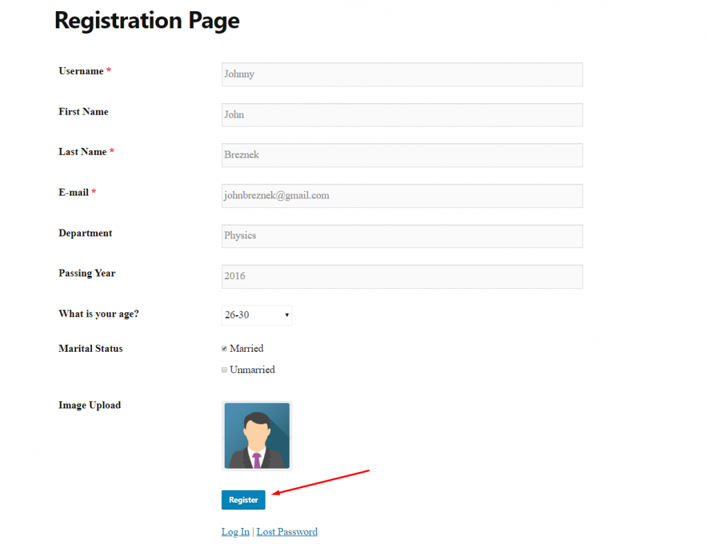 how to create an alumni site