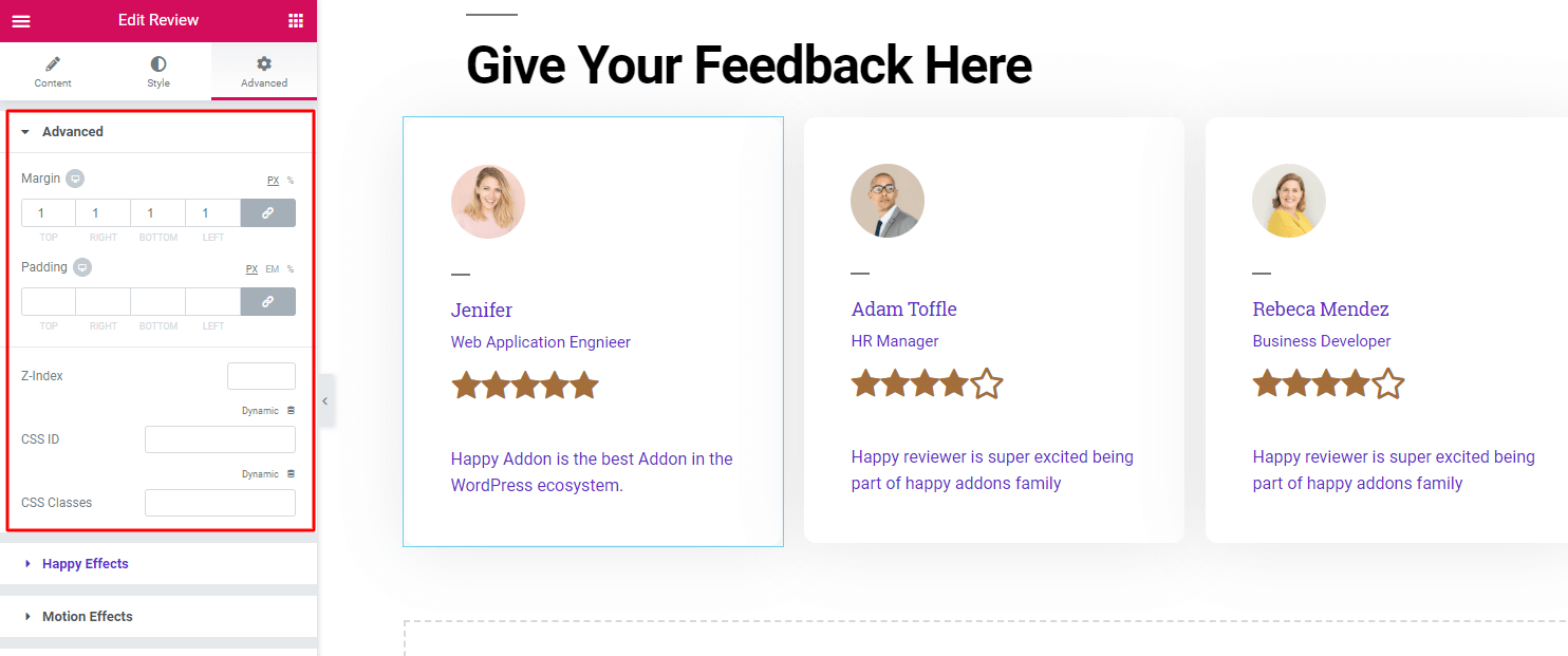 How do I create a review page on WordPress