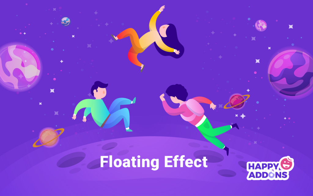 Floating Effect one of the top Elementor widgets