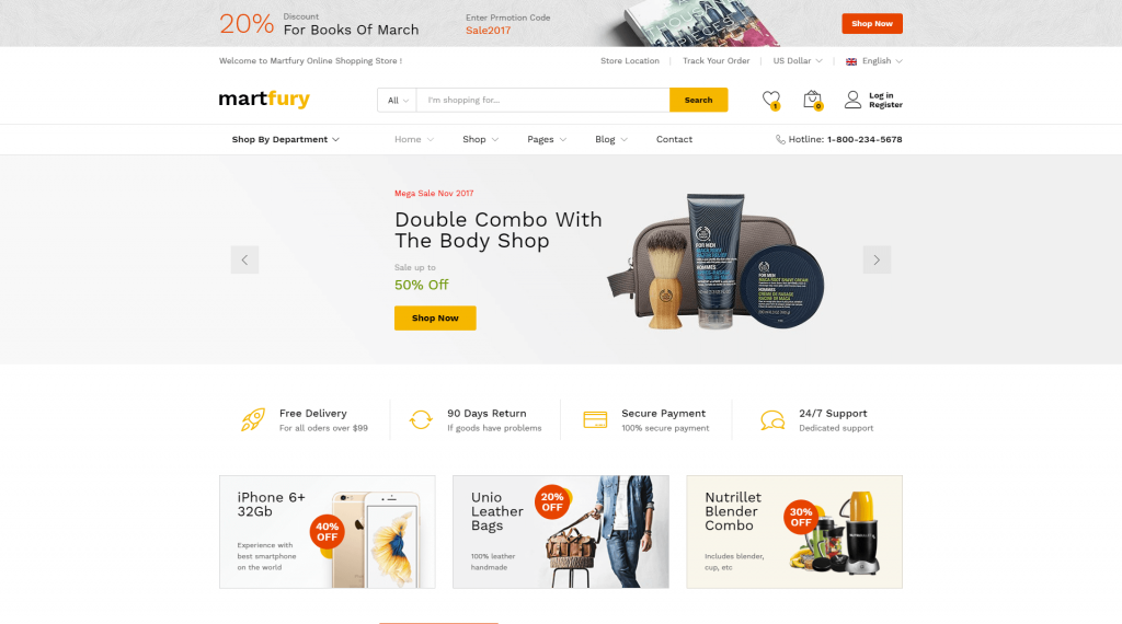 martfury-eCommerce-marketplace-theme