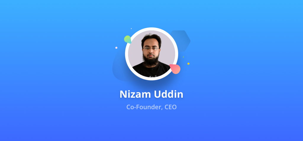 weDevs CEO, Md Nizam Uddin