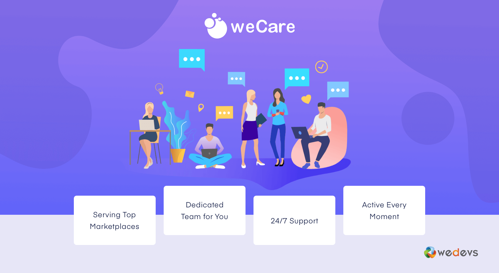 weCare – An Easy WordPress Maintenance Service for Your Marketplace