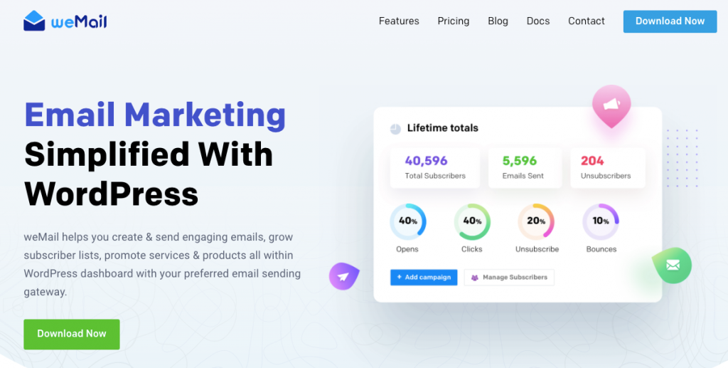 weMail email marketing tool