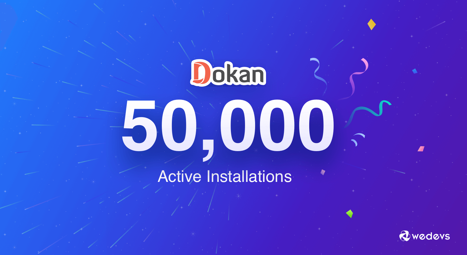 Celebrating 50k Active Installations of Dokan- The Best Multivendor Plugin for WooCommerce