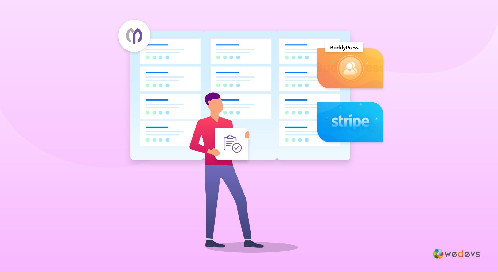 BuddyPress Project Management & Stripe Payment Gateway Integration With WP Project Manager(Complete User Guide)