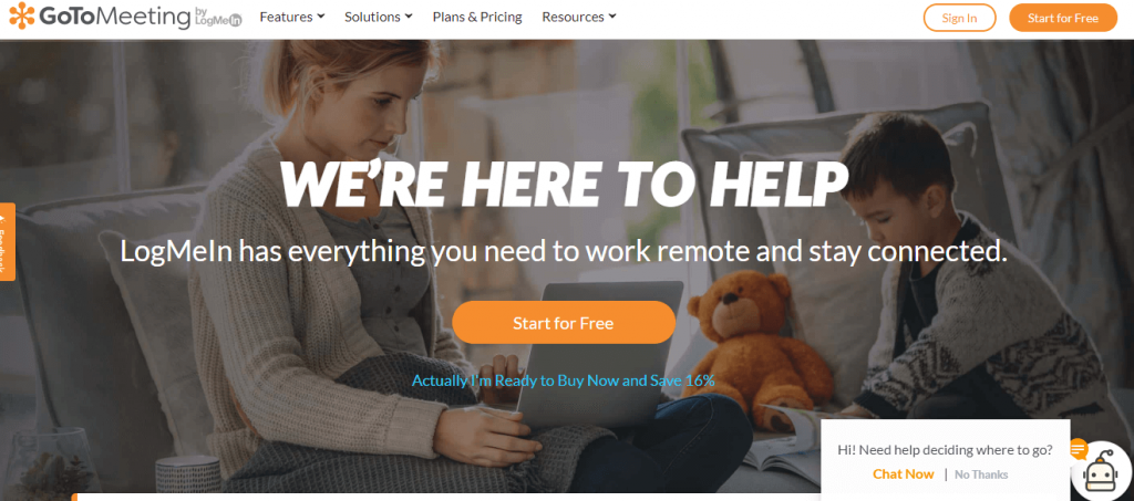 GoToMeeting free online meeting tool