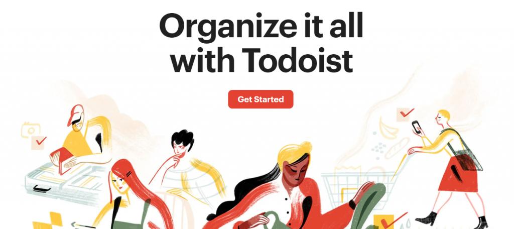 Todoist Task manager app