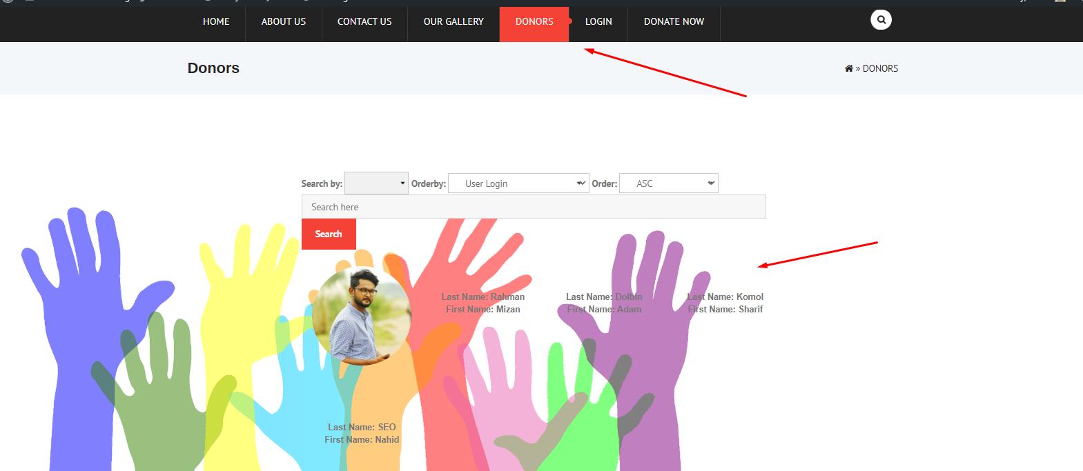 create a Nonprofit website