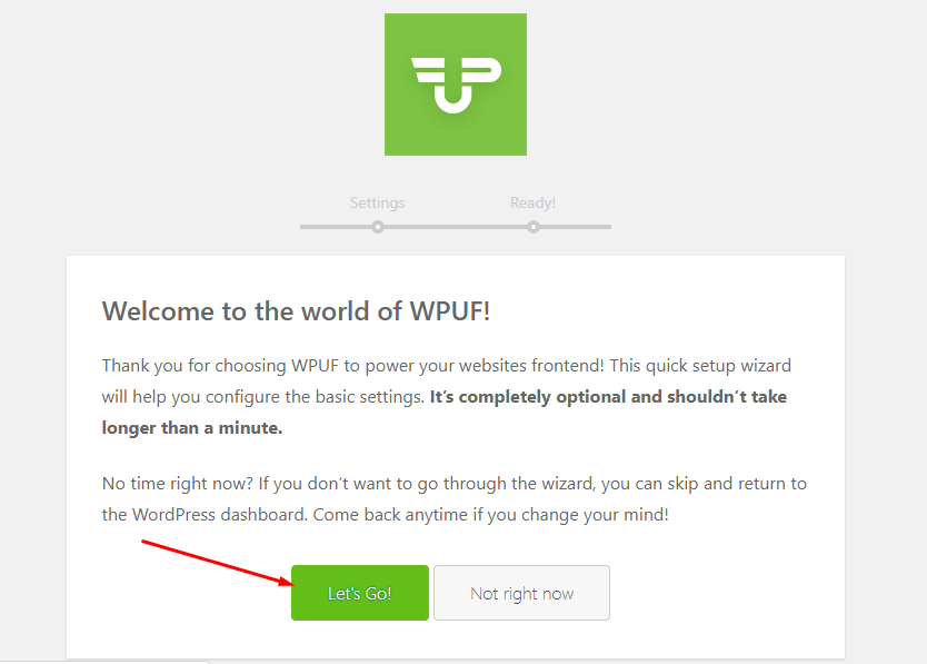 install WP User Frontend
