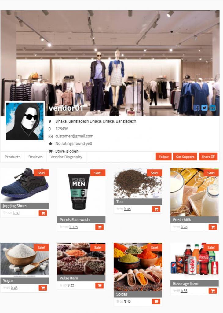Dokan Online Shop
