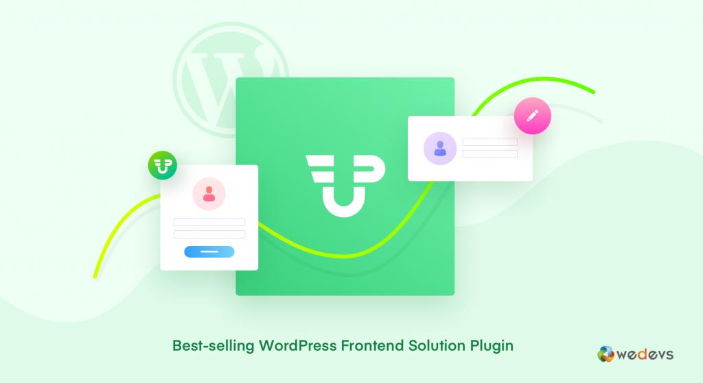 Best selling WordPress Frontend solution plugin