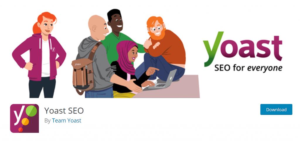 Yoast SEO- best WordPress plugins for blogs