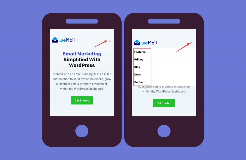 mobile-friendly landing pages