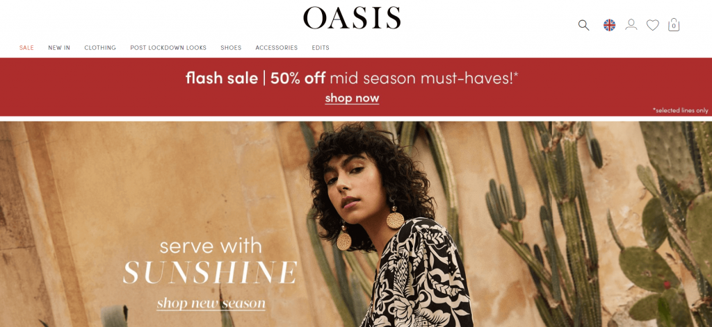 oasis- Omni Channel Examples