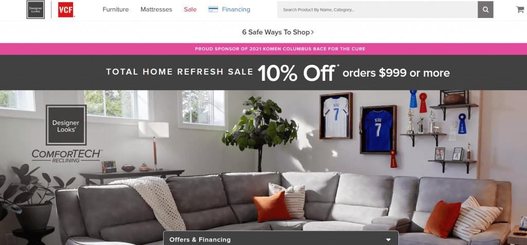 value city- Omni Channel Examples